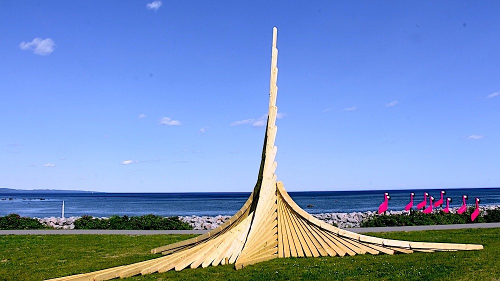Photo de la Sculpture de Richard Tremblay. Photo Daniel Le Saunier